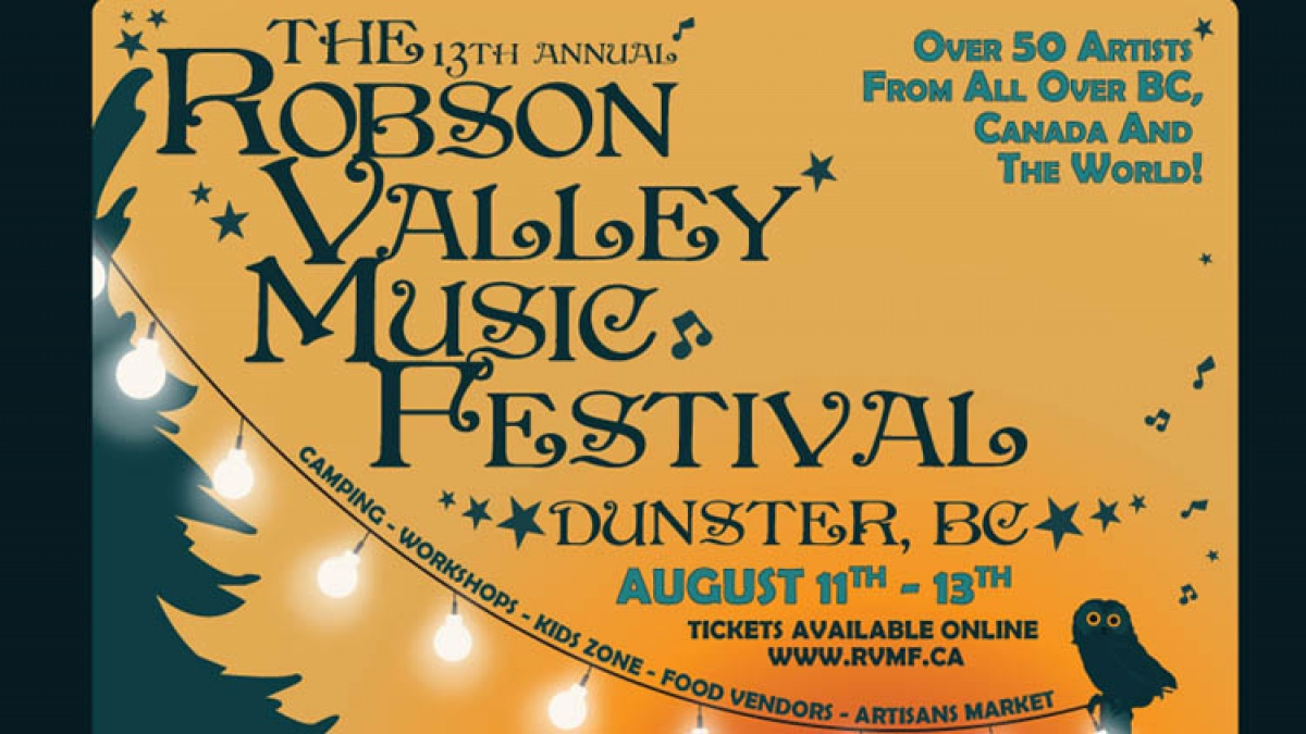 Robson Valley Music Festival Contest